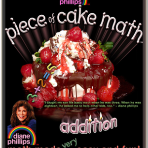 Piece of Cake Math Addition book