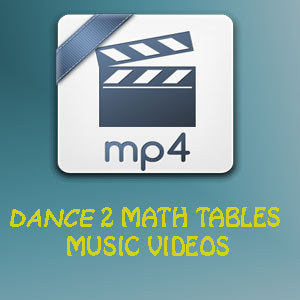 DANCE 2 MATH TABLES music videos